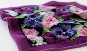 シェニール織り